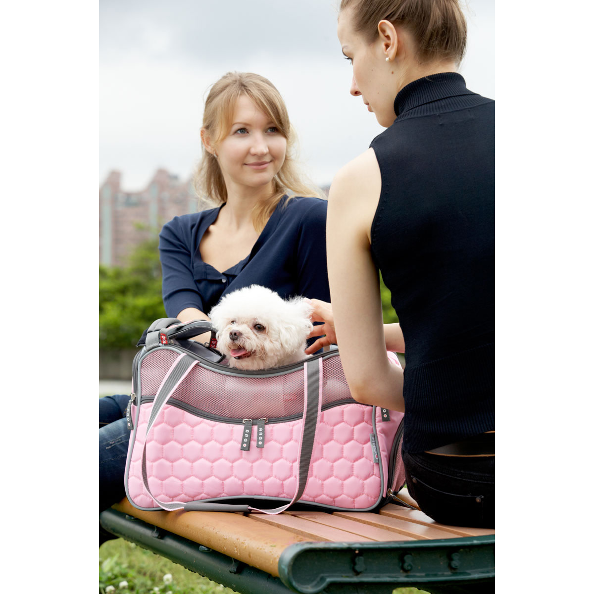 Argo Petagon Airline Approved Carrier in Tokyo Pink.