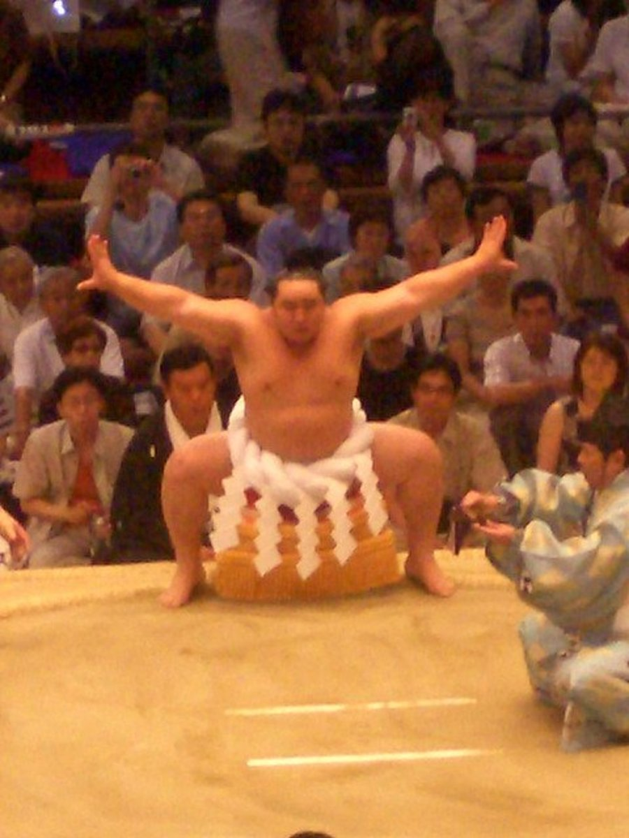 The Tosa was developed for sumo type wrestling.