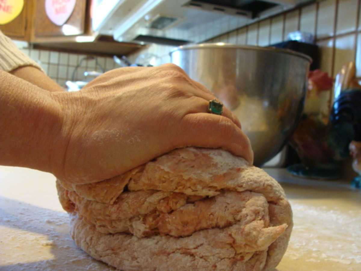 Knead your dough until smooth