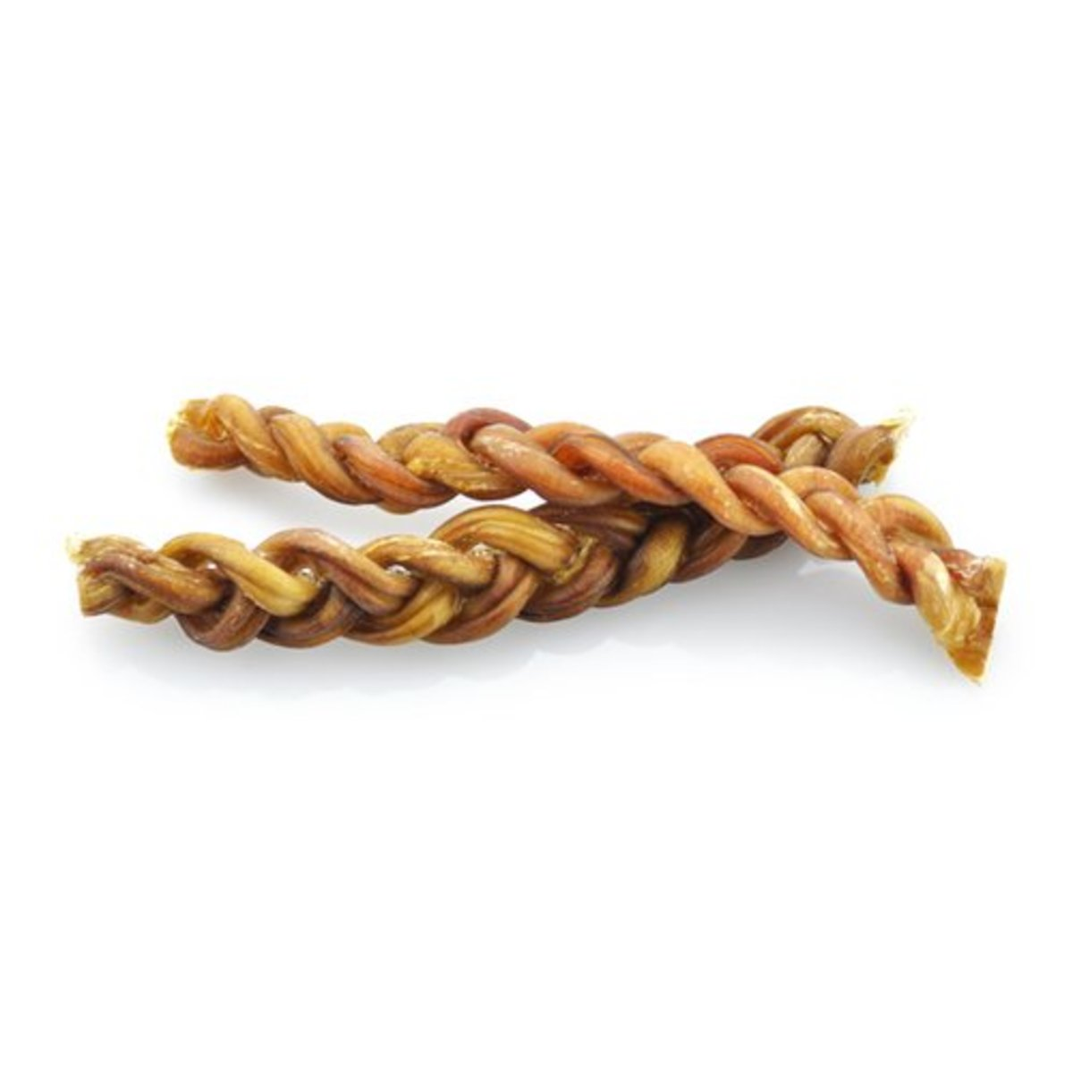 Braided Bully Stick include 3 sticks wound together.