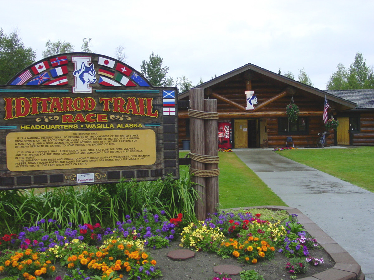 Iditarod Trail Race Headquarters and Museum.