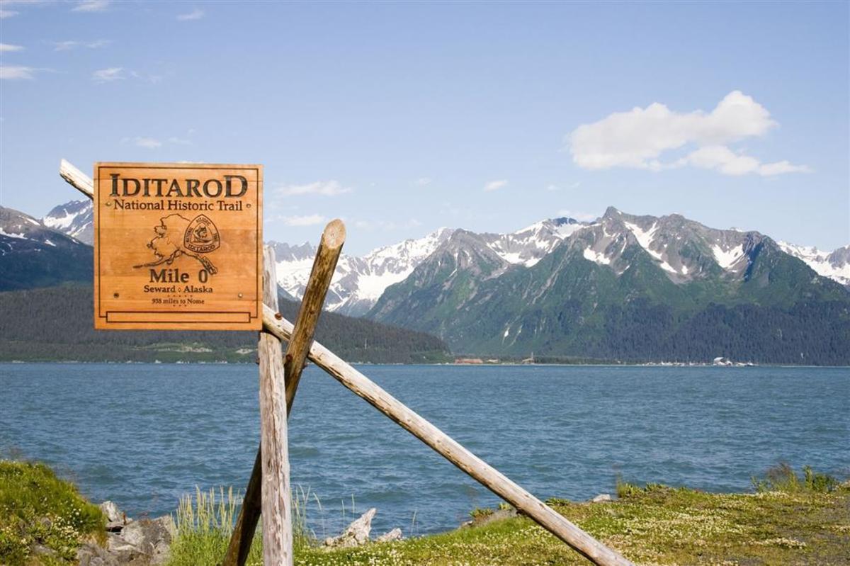 Iditarod Trail Start