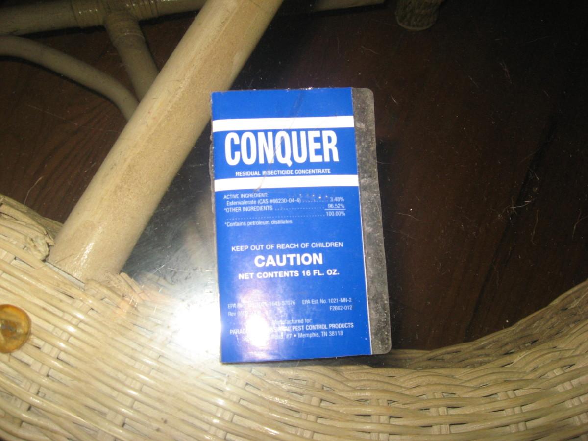 Conquer provides great flea control.