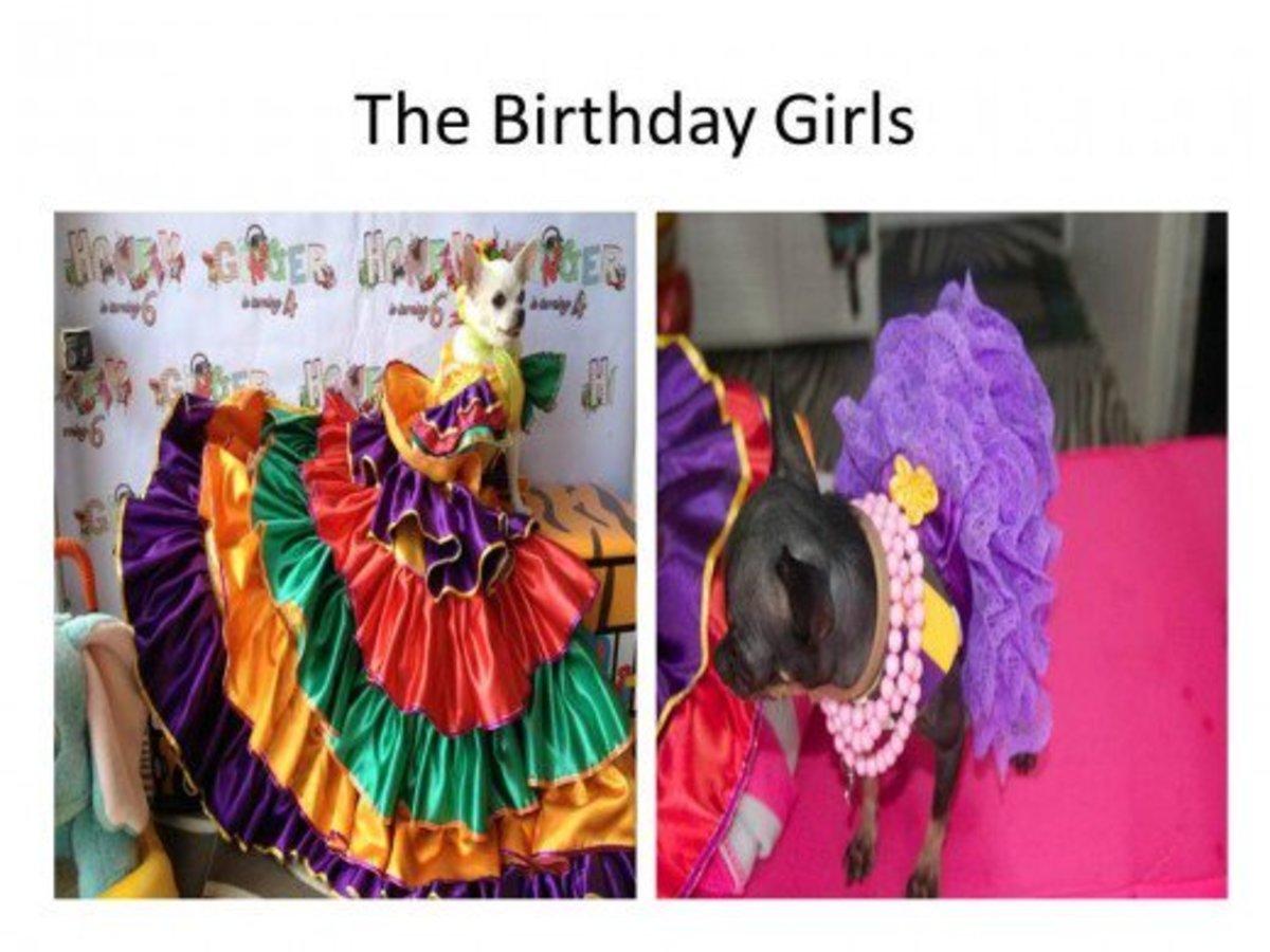 The birthday girls.