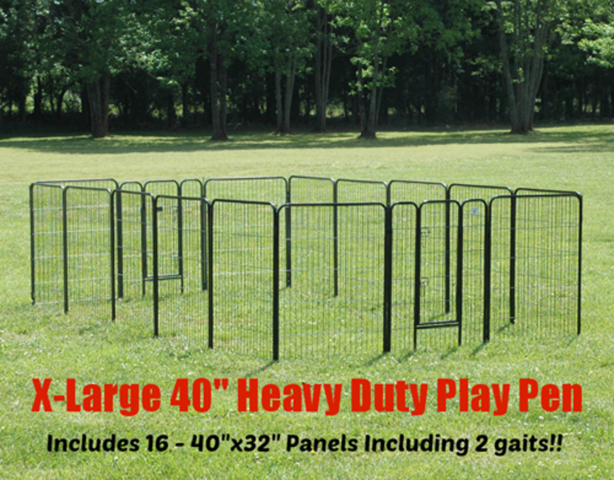 Extra Large Heavy Duty Playpen