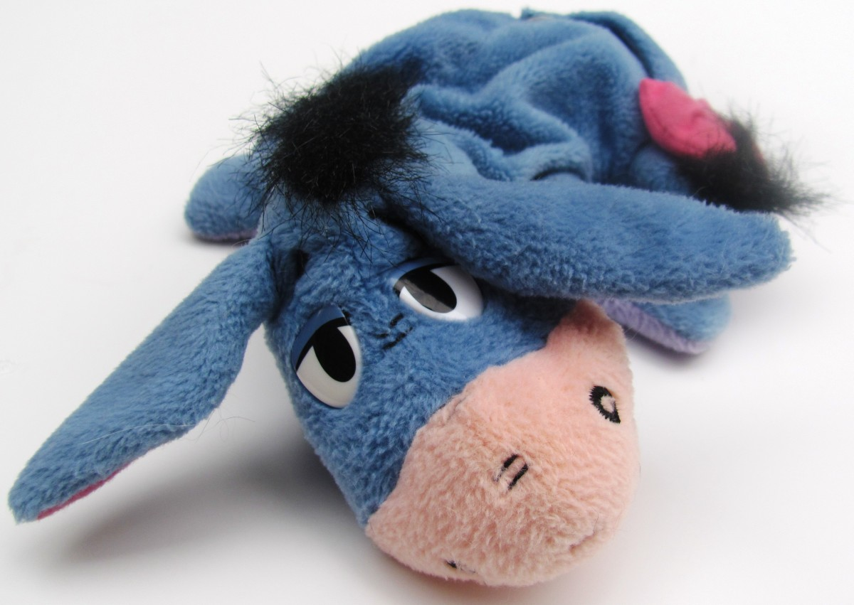 I am concerned about Eeyore.  I think he has dysthymia.  Is it time he finally got help?