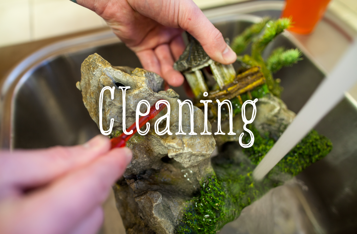 All decorations will need cleaning at some point. Here's how.