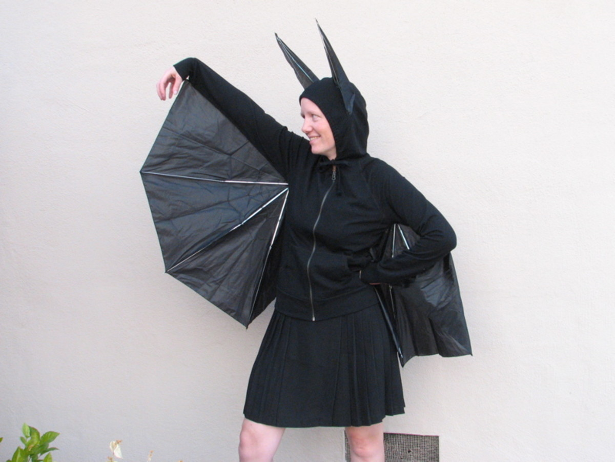Get your Bat Girl costume on and spread the word that bats are bats are the good guys.