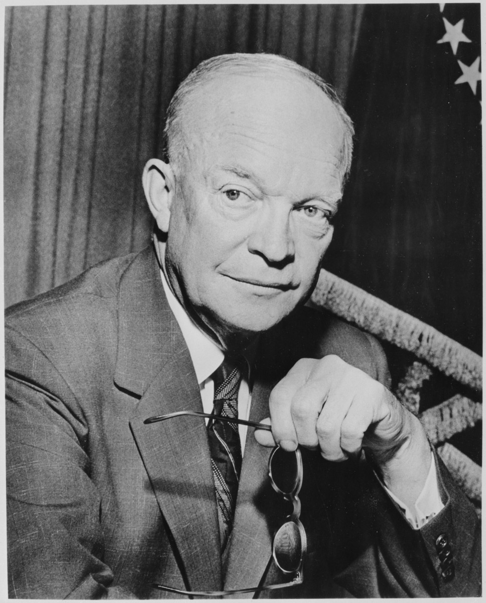 Ike ordered his staff to shoot any cat on his farm at Gettysburg.  Dastardly dude!  Real heroes don't do that.