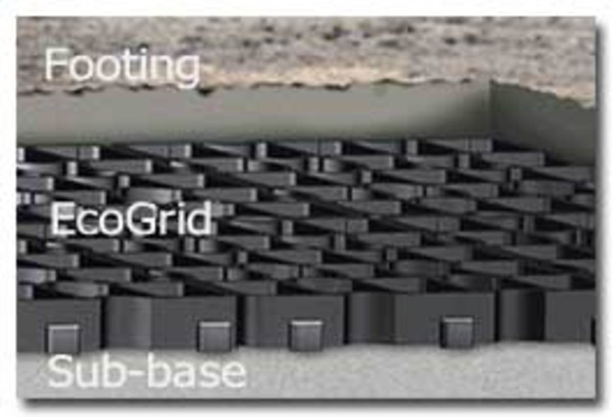 Sand, Ecogrid, and Gravel