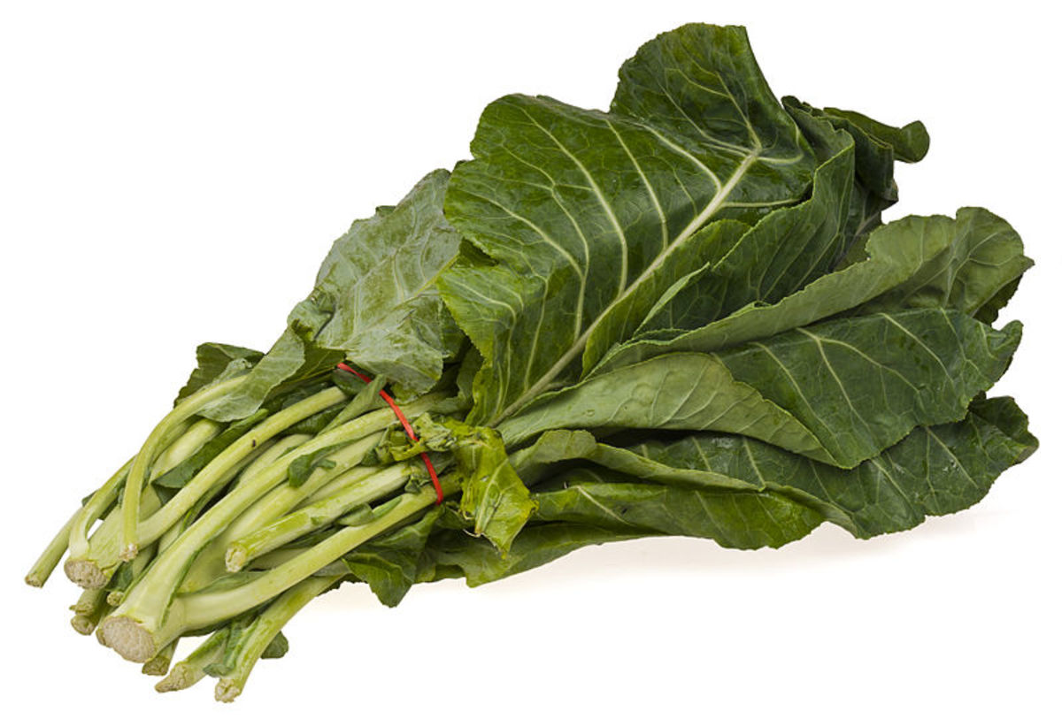 Collard Greens--Iguana Food at its Finest
