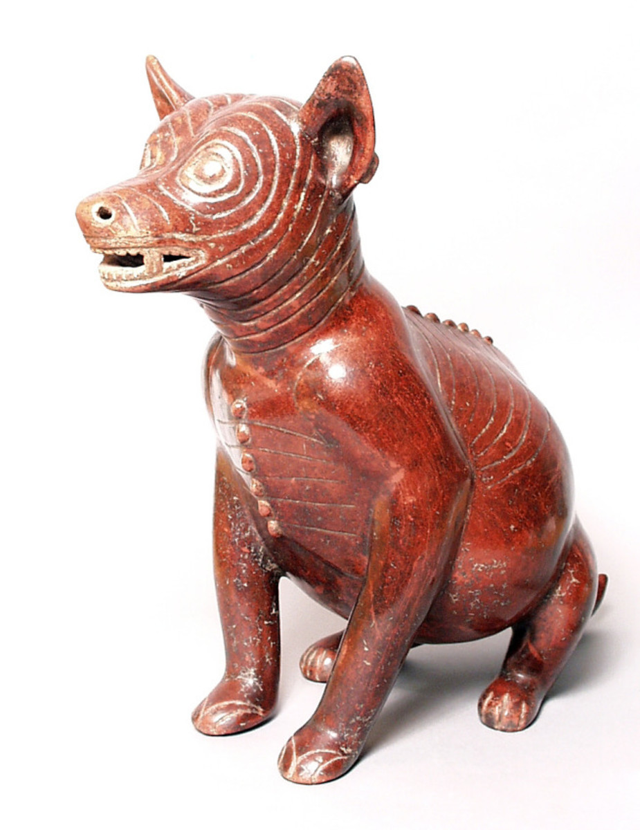 Native American Dog  200 BC-500 AD