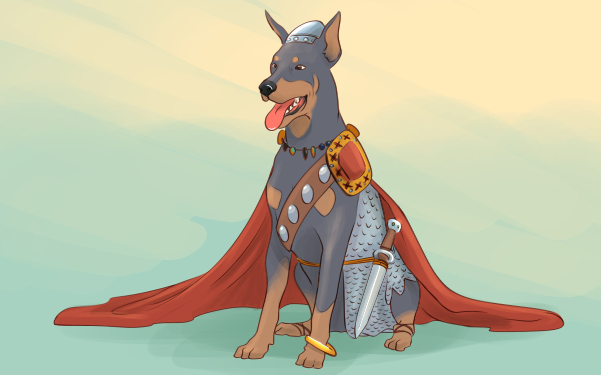 Your strong, steady dog may need the name of a Viking.