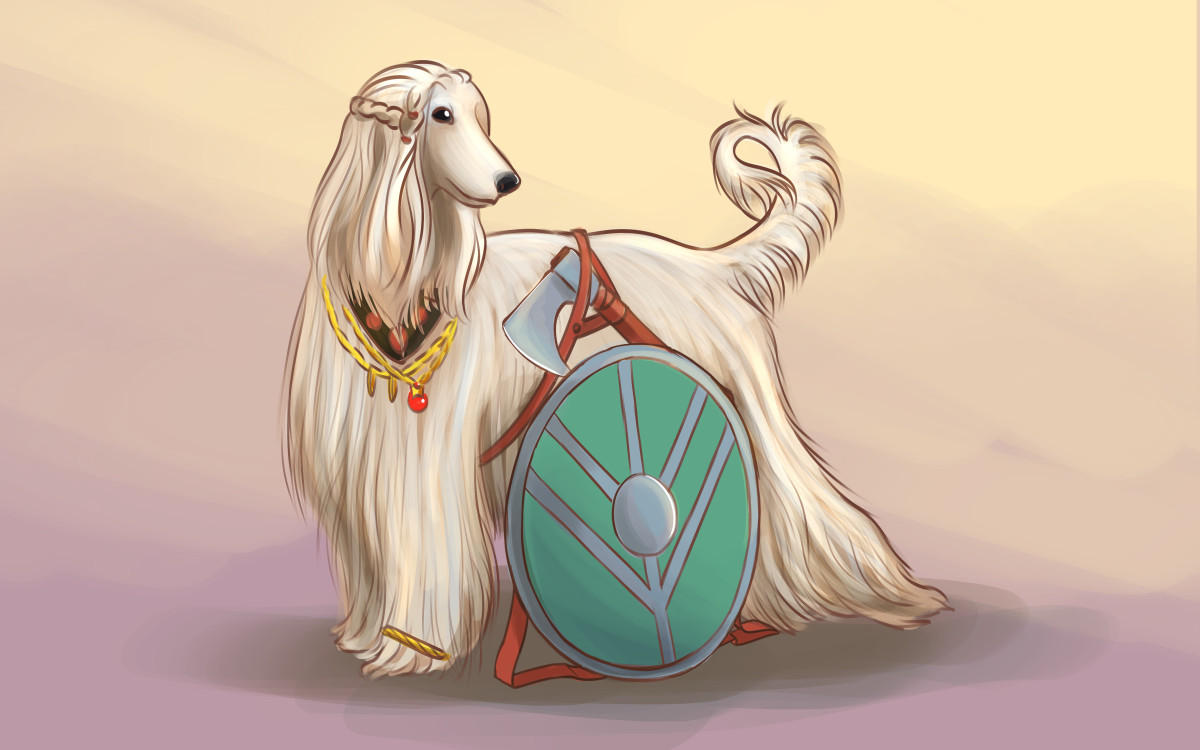 Perhaps this dog would be a Brynhild.