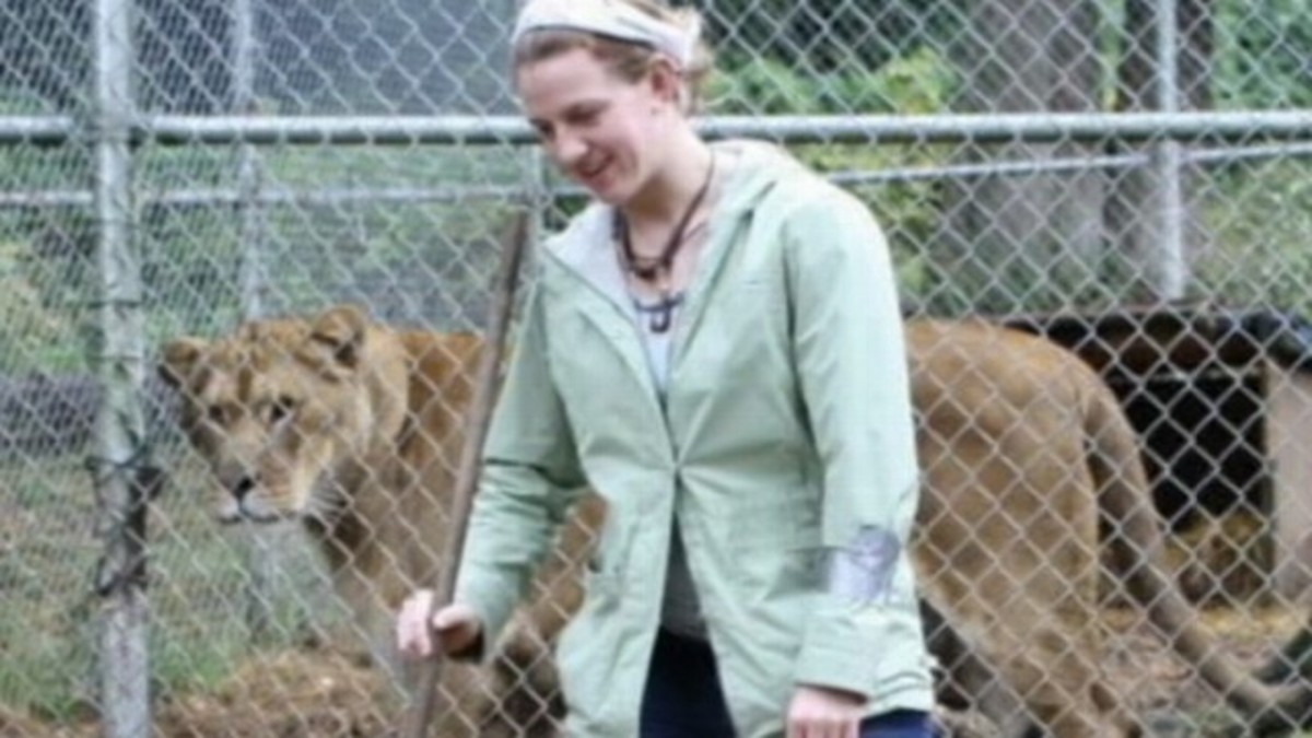 Dianna Hanson Lion Attack Victim
