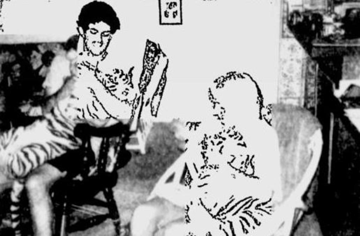 Photo of victim from newspaper
