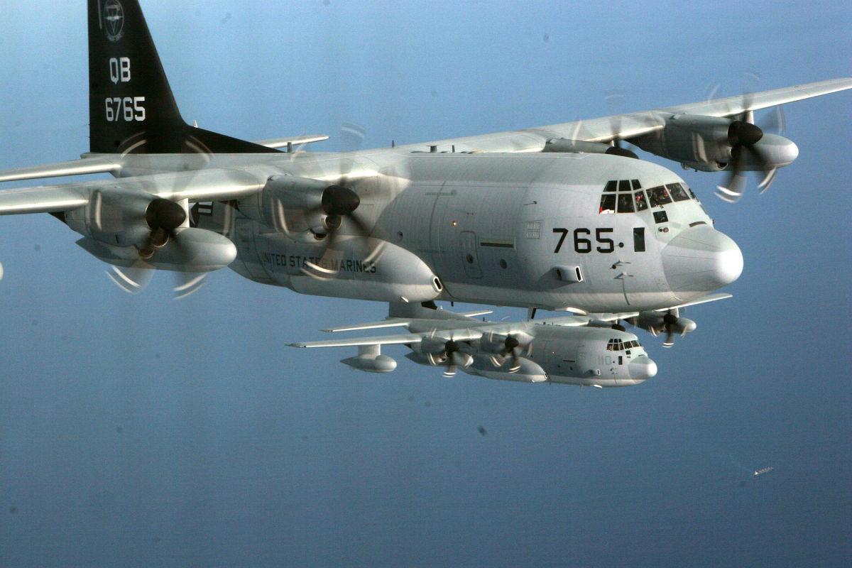 Super Hercules Transports on Mission