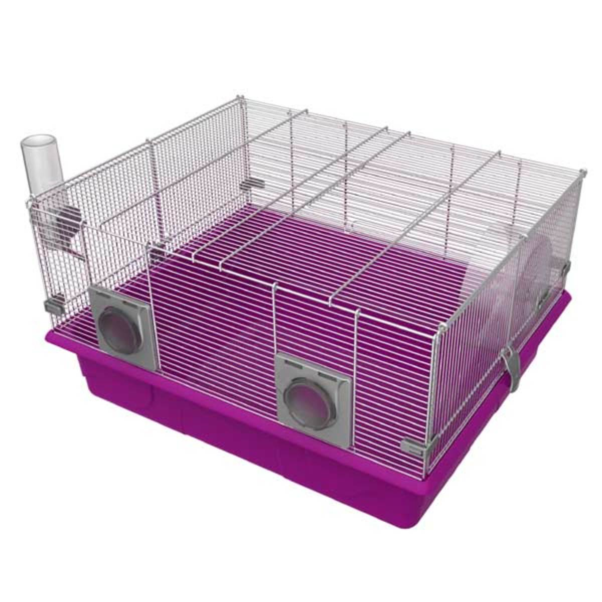 A good hamster cage suitable for smaller Syrian's and all other types of hamsters. These you can buy things to build up however you like and are of a decent size.