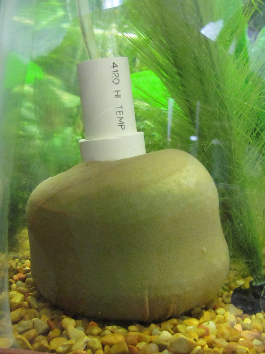 How to Make an Aquarium Pot-Scrubber Air Filter