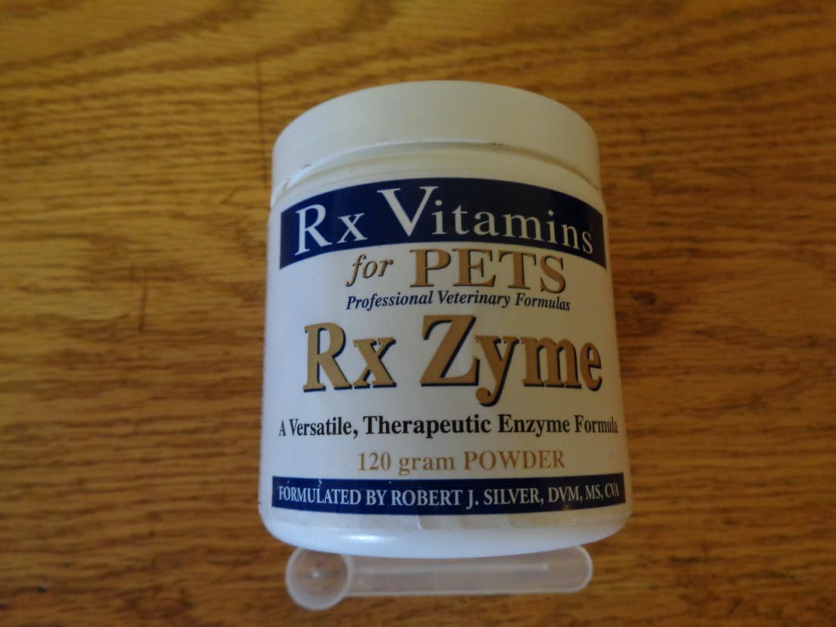 Luna's enzyme powder supplement