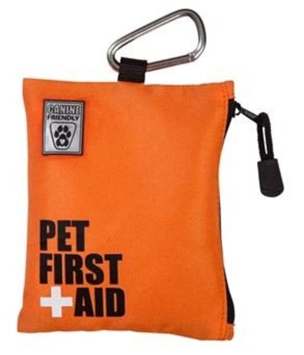 Portable first aid kit for dogs