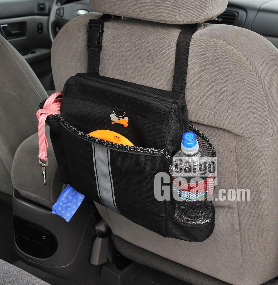 Car organizer for dog gear