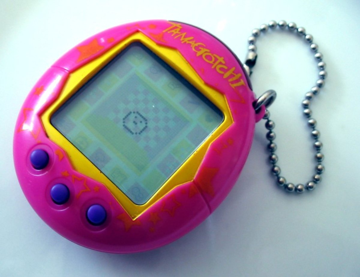 It doesn't get any easier than a Tamagotchi pet.