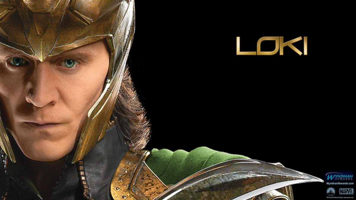 Loki is a perfect dog name.