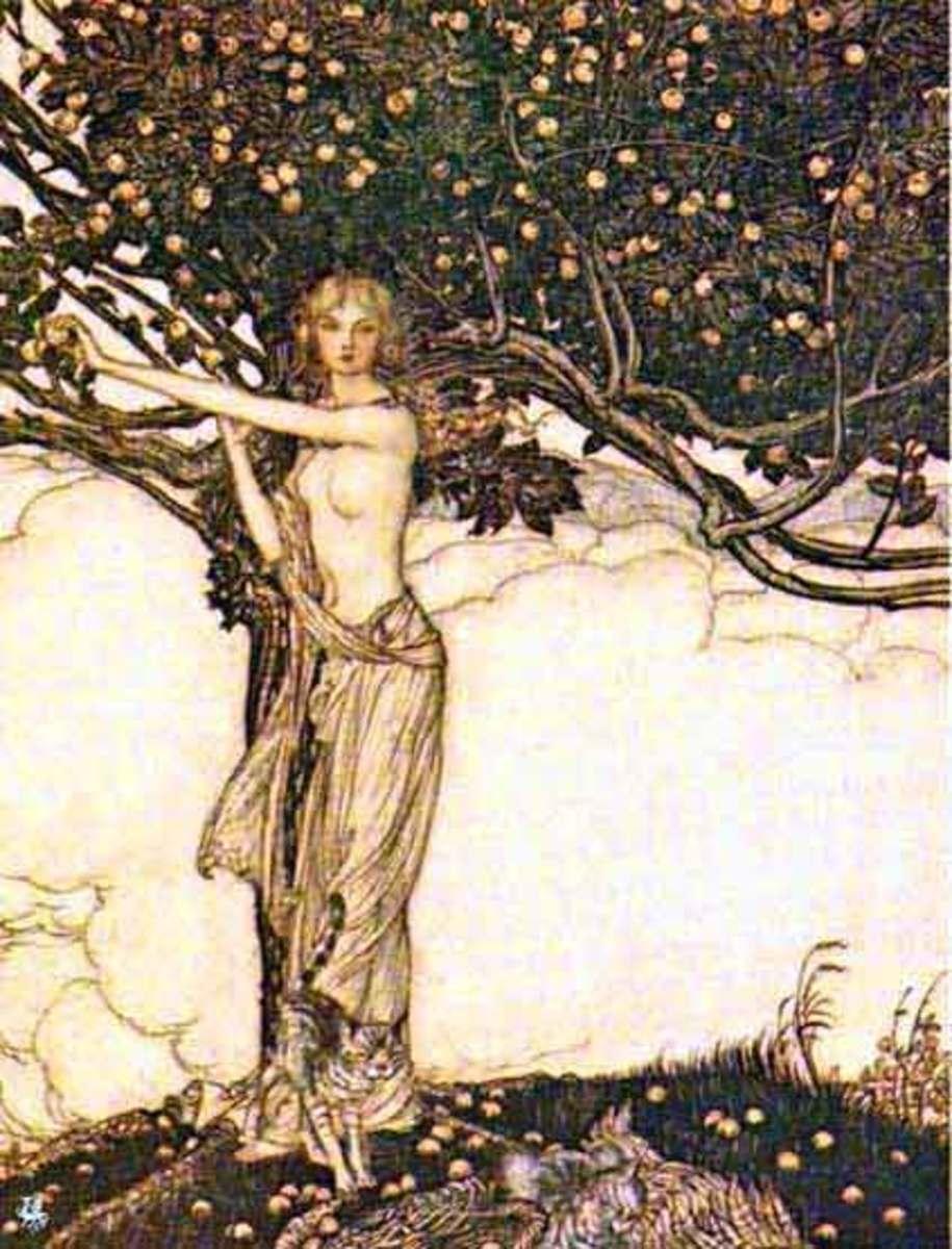 The goddess Freya
