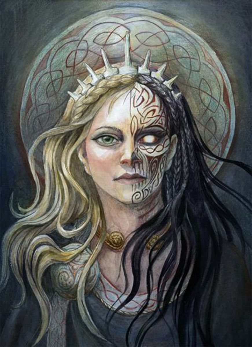 The goddess Hel