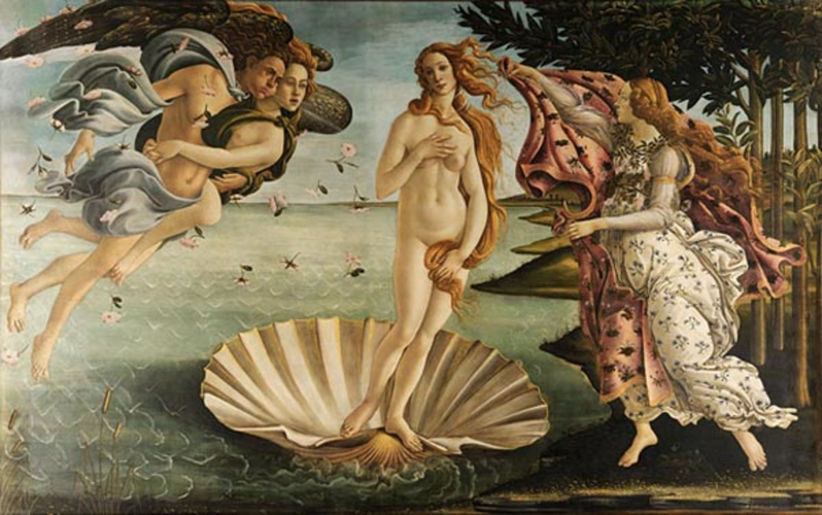 Aphrodite's birth