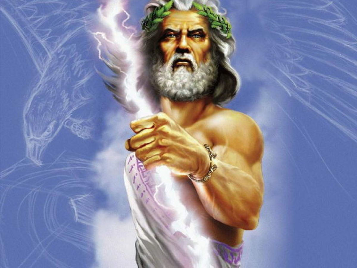 Zeus, King of the Greek Gods
