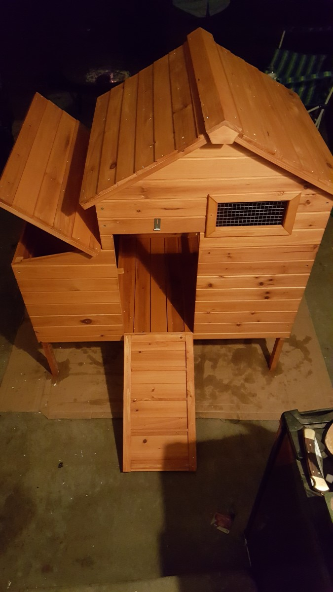 The coop I purchased for my hens