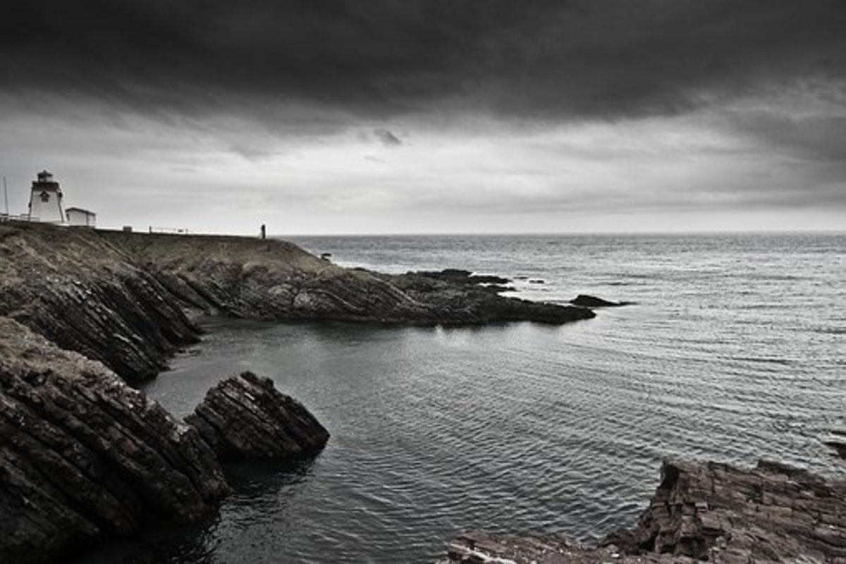 A hilly Newfoundland Coast