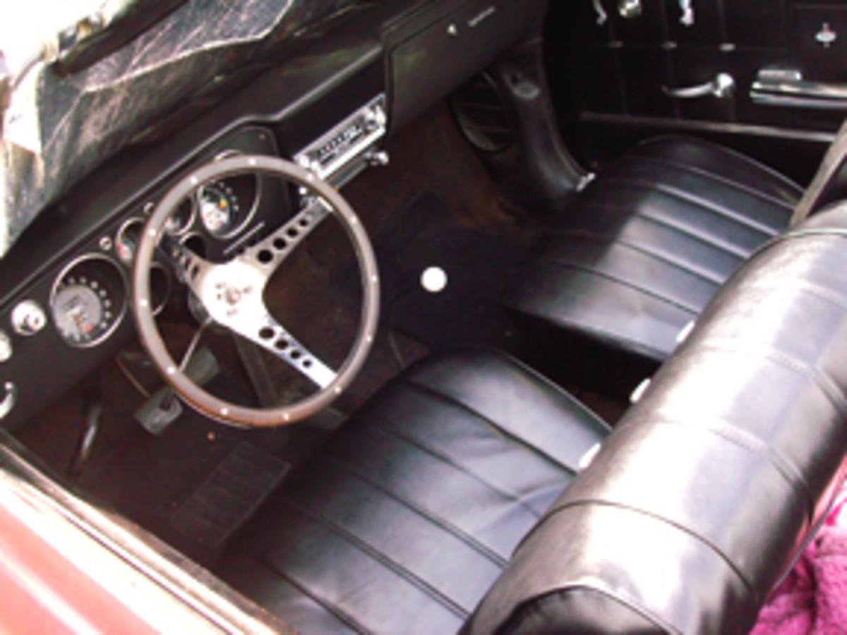1966 Corsa Interior