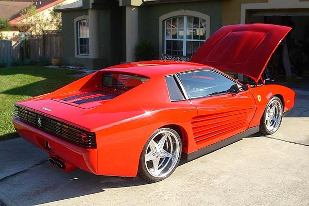 Hand-Built 1986 Ferrari Testarossa