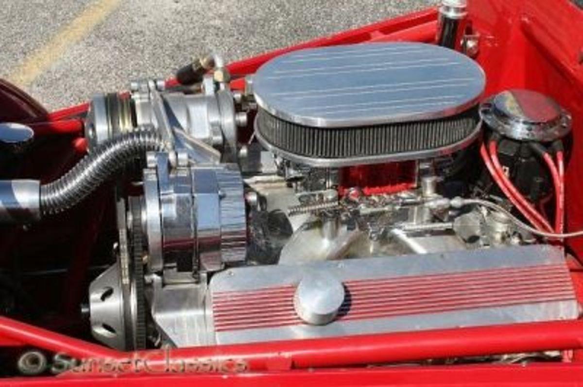 383 Chevy Stroker in a Fiat Topolino Hot Rod