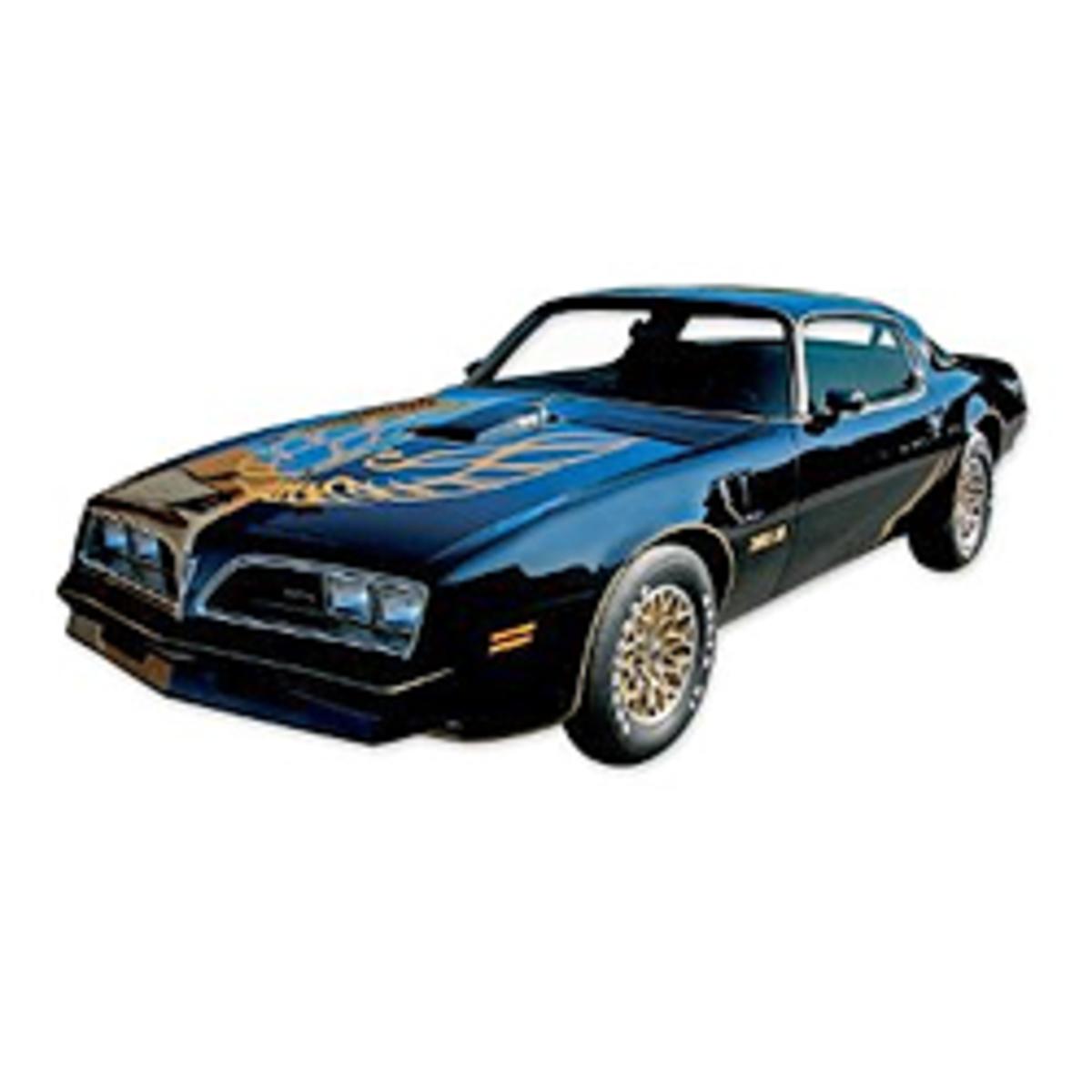 1976 1977 1978 Pontiac Firebird Trans Am Special Edition Bandit Decals