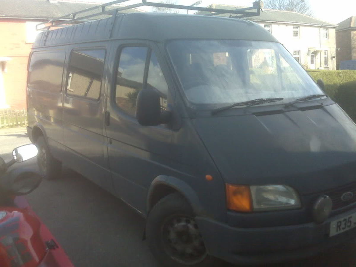 It's an ugly duckling, but we got this very scruffy, dirty van for £600.