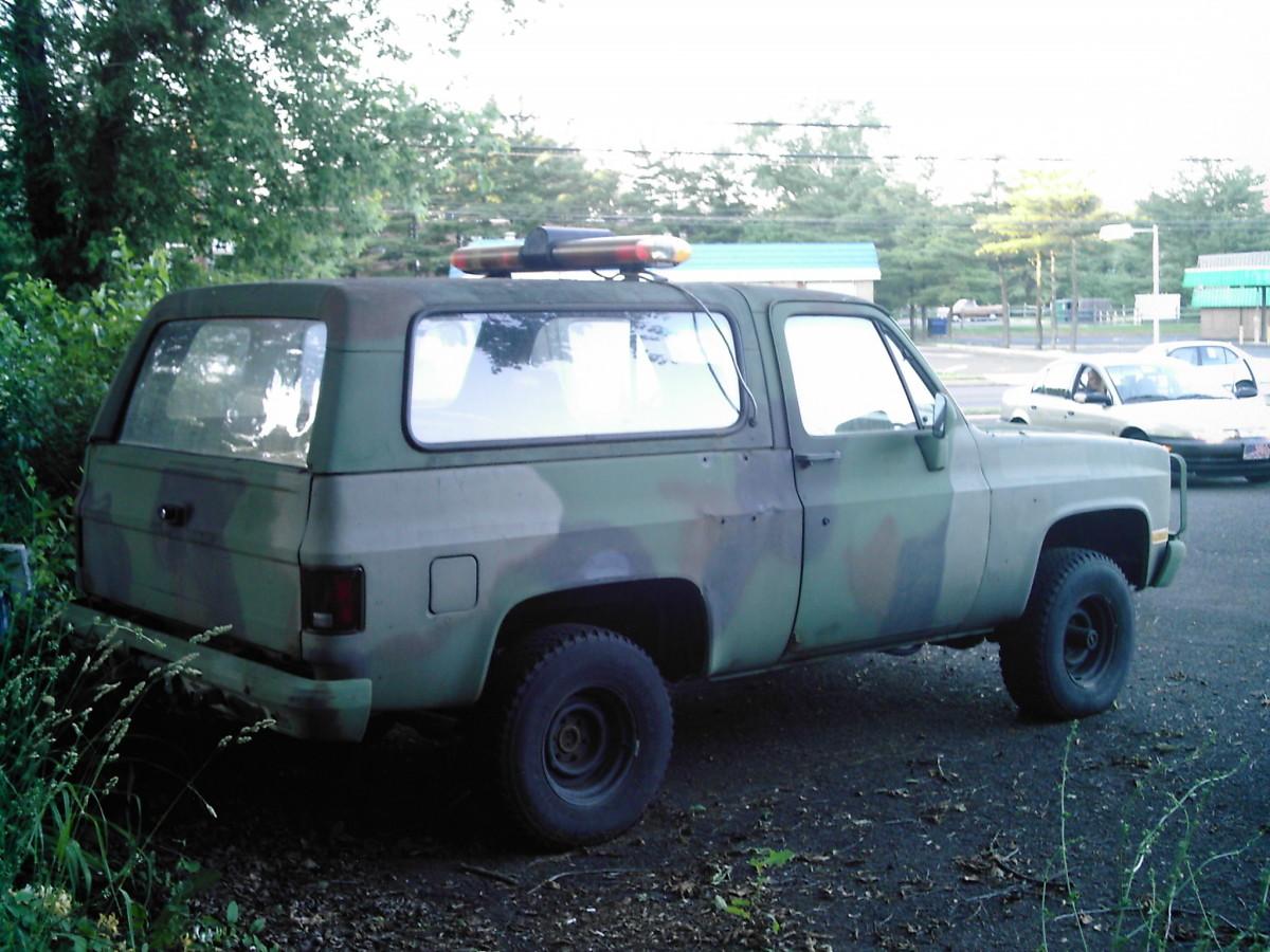 GM CUCV Blazer