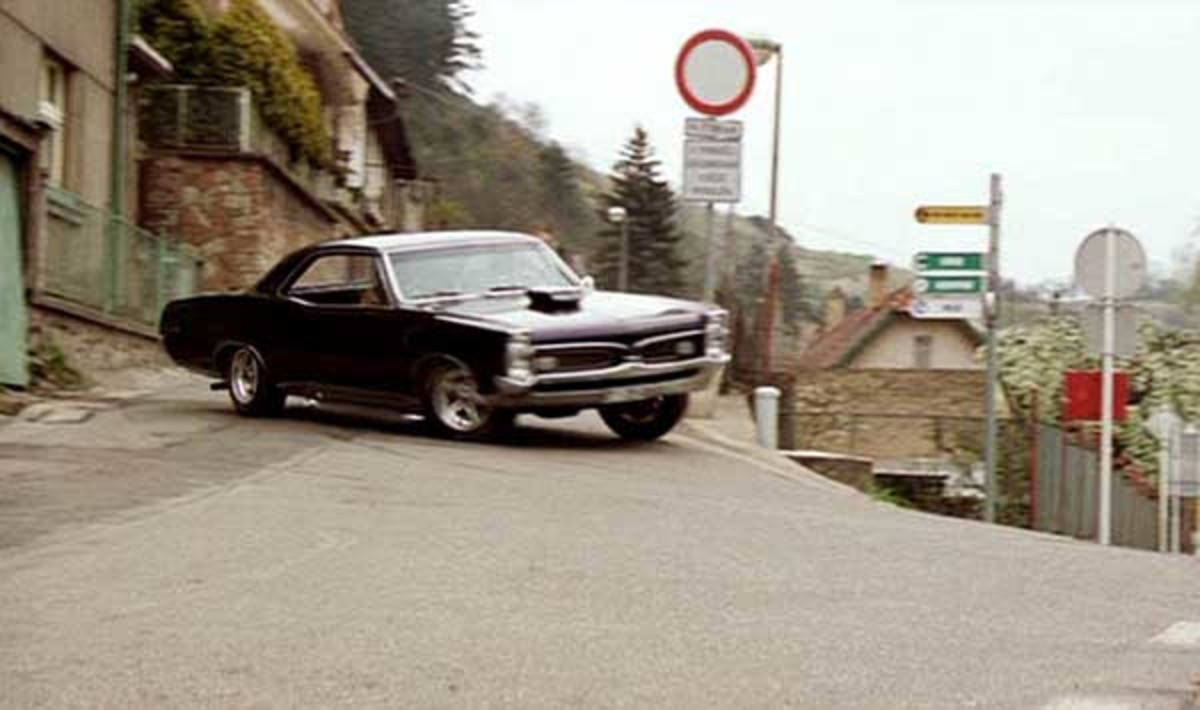 The 1967 Pontiac GTO from xXx (2005).