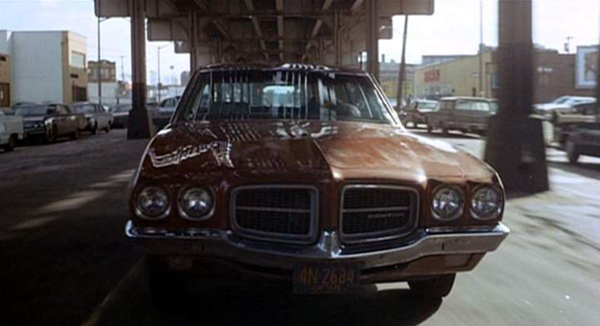 The 1971 Pontiac LeMans used in The French Connection (1971).