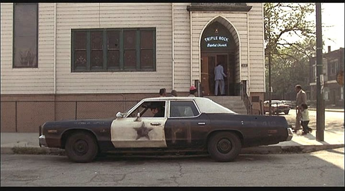 The 1974 Dodge Monaro featured in The Blues Brothers (1980).