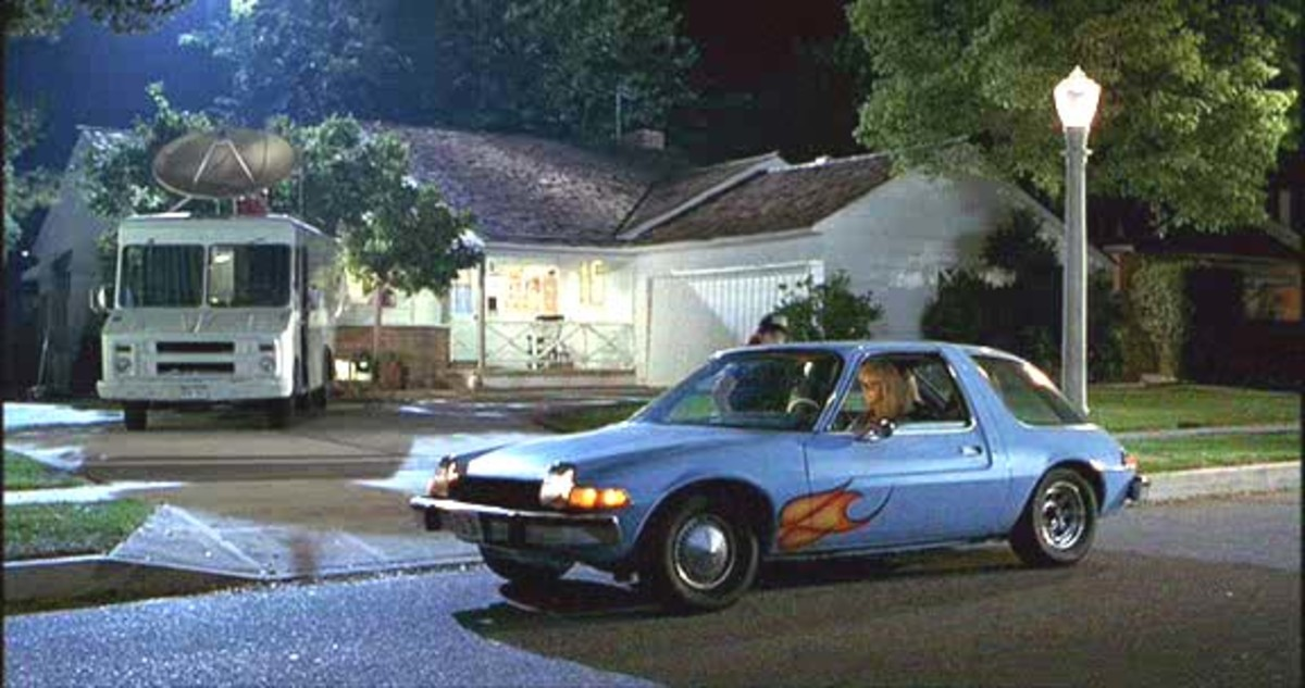 The 1976 AMC Pacer featured in Wayne's World (1992).