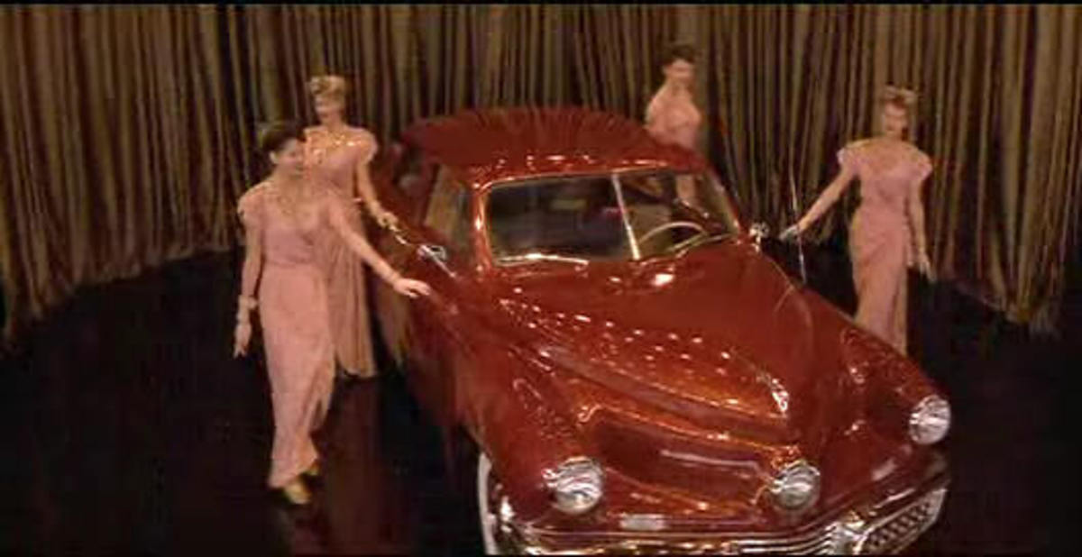 The 1948 Tucker Sedan from Tucker: The Man and His Dream (1988).