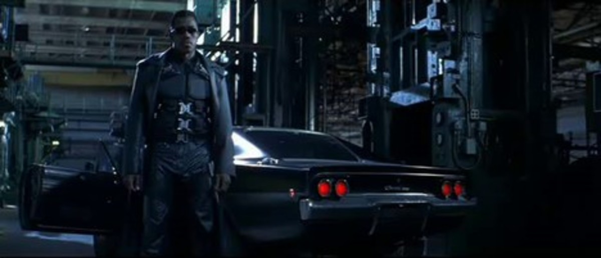 The 1968 Dodge Charger R/T in Blade (1998),