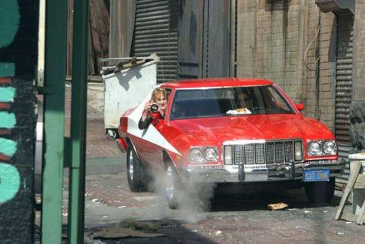 The 1976 Ford Gran Torino in Starsky and Hutch (2004).