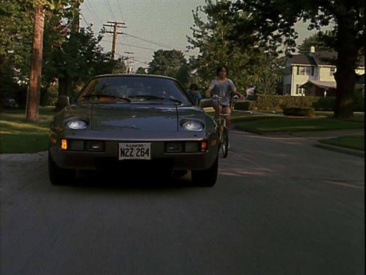 The 1981 Porsche 928 from Risky Business (1983).