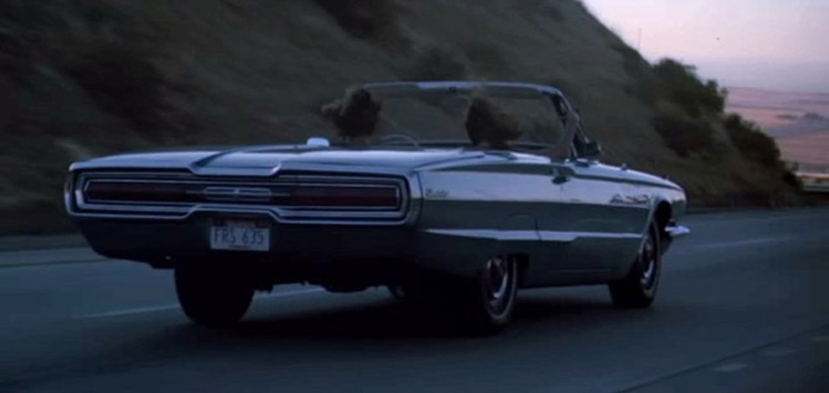 The 1966 Ford Thunderbird from Thelma and Louise (1991).