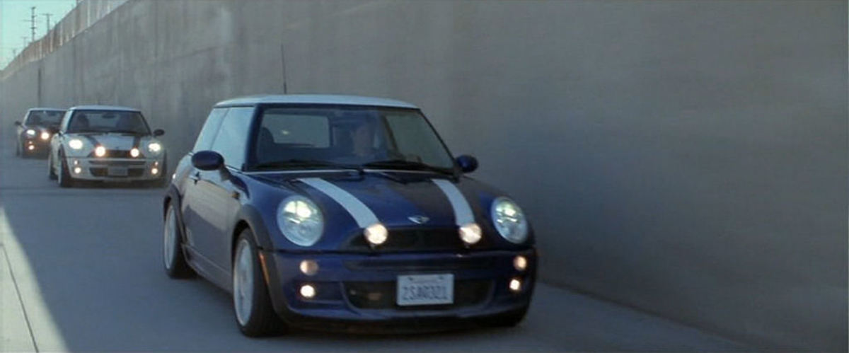 The 2003 BMW Mini Cooper S from Italian Job (2003).